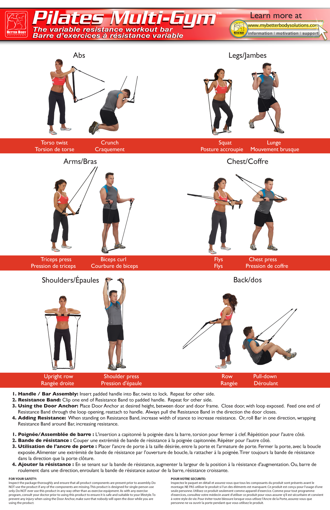 pilates bar exercises - Google Search | Fitness | Exercise ...