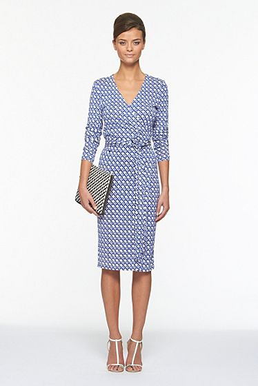 e2c0fe4cfcbcc Classic DVF wrap dress...major wish list item. | Style | Style, Wrap ...