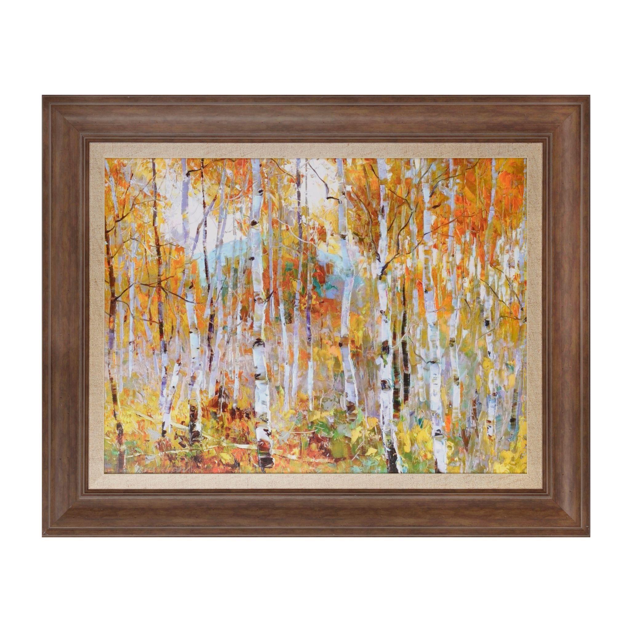 Fall Magic Framed Art Print | Vivid colors