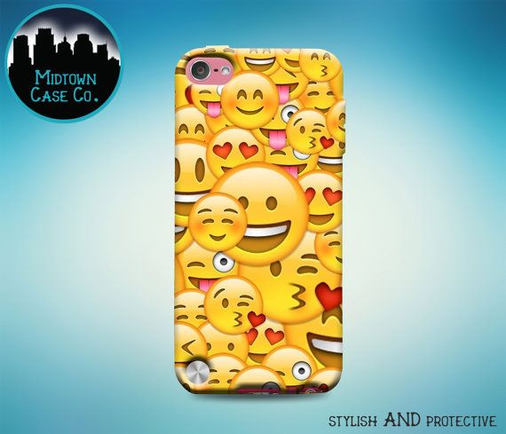 Happy Smiley Heart Eyes Face Emoji Collage Ipod Touch 5th Gen Generation Rubber Case Smiling Emoji Collage Ipo Cute Ipod Cases Ipod Touch Cases Ipod Touch 6th