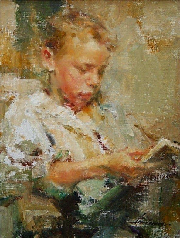 O cão que comeu o livro...: O jovem leitor de Carolyn Anderson / Boy reading -...
