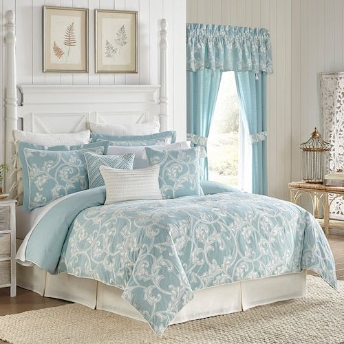 Croscill Willa Comforter Set With Images Comforter Sets King Comforter Sets French Bedroom