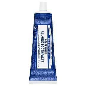 Dr Bronner's Peppermint All-One Toothpaste 5 oz : Target