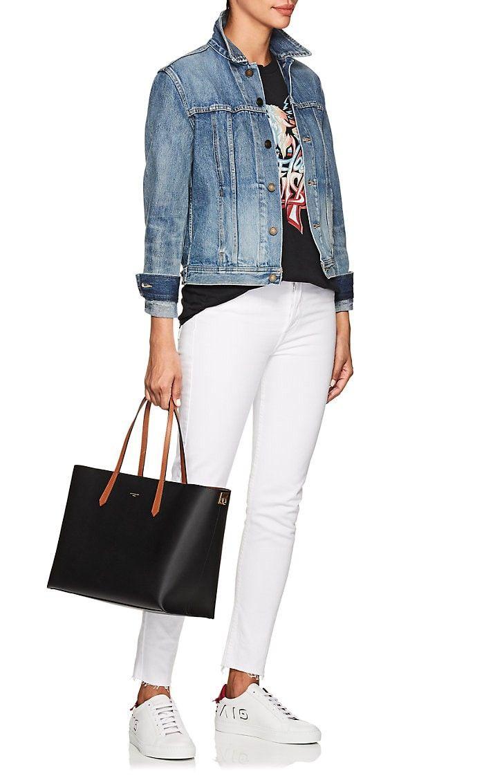 27ffcca27e82 Givenchy Gv Shopper Medium Leather Tote Bag - Black 1 Sz Brown ...