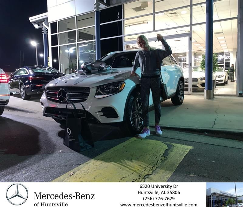 Congratulations Marigrace On Your Mercedes Benz Glc From Jordan Wright At Mercedes Benz Of Huntsville Mercedes Benzofhunts Mercedes Benz Huntsville Benz