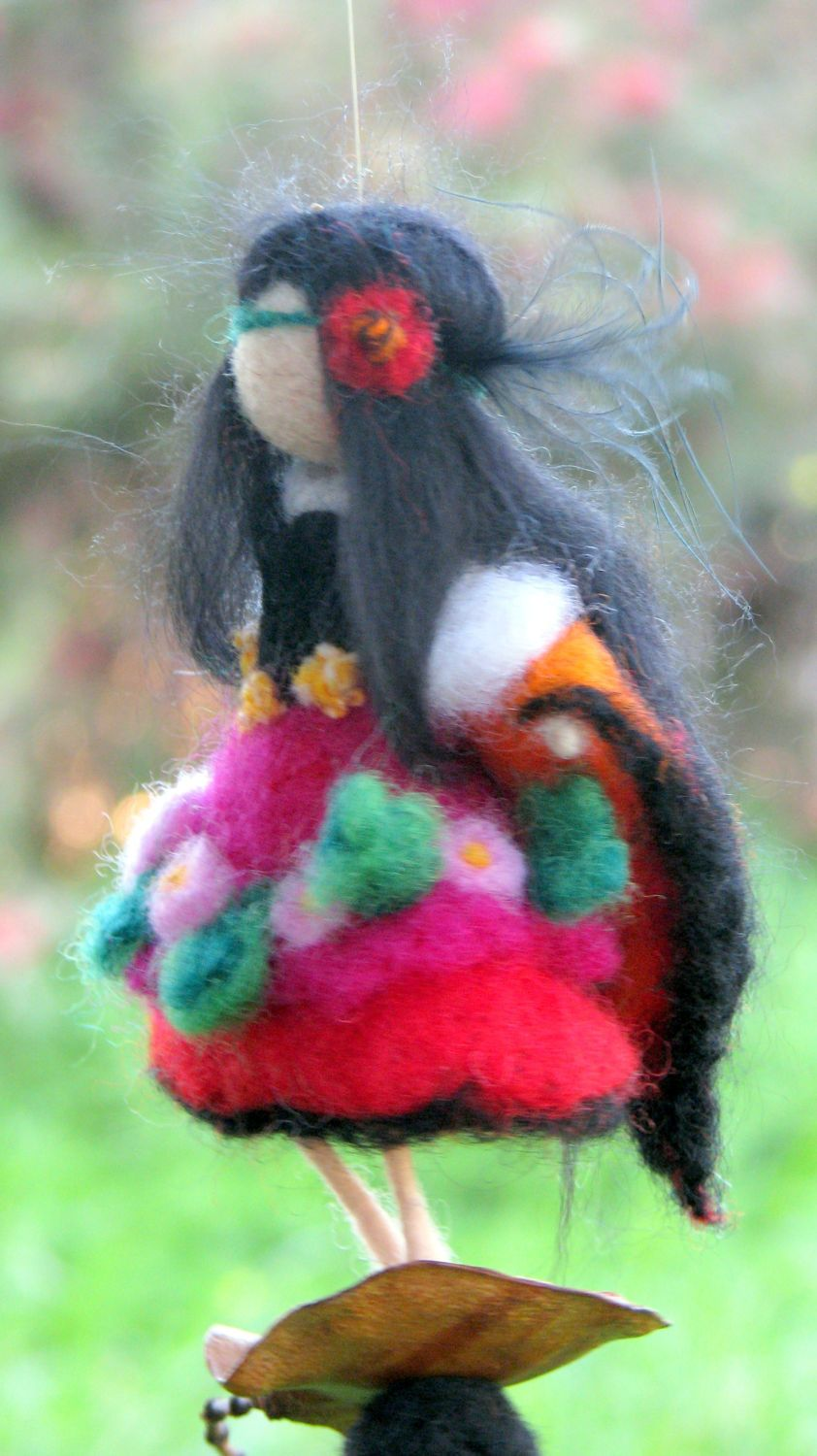 Photo of Items similar to felted ornament home decoration needle …