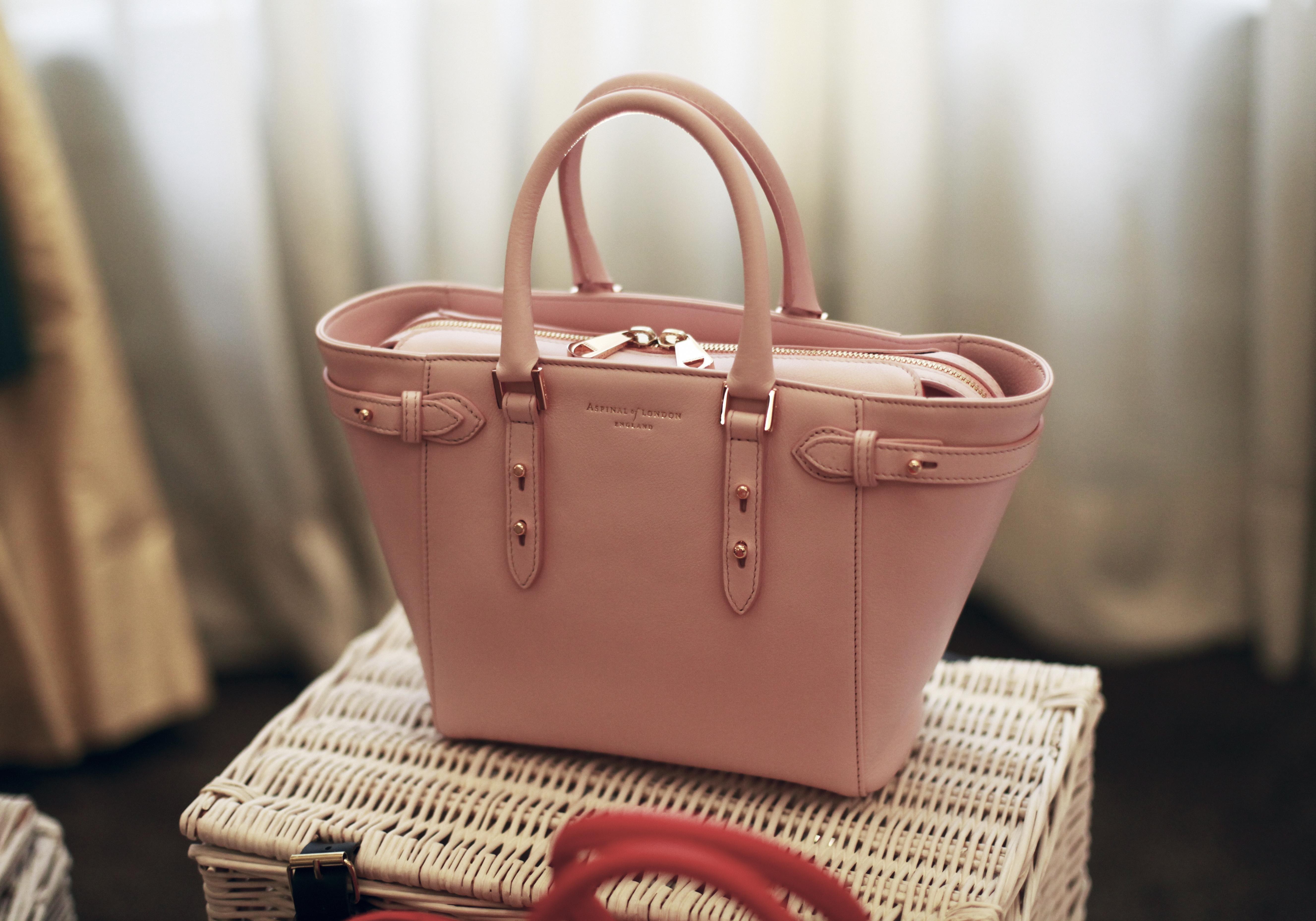 Mini Marylebone In Blush Pink Hand Bags Bag