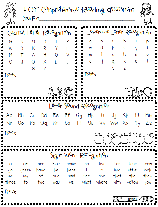 It is a picture of Unusual Free Printable Reading Level Assessment Test