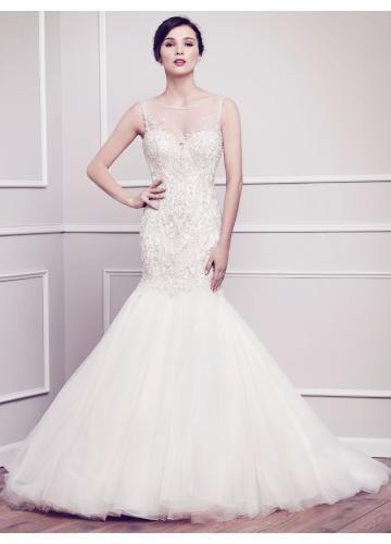 Meerjungfrau Luxuriöse Elegante Brautkleider