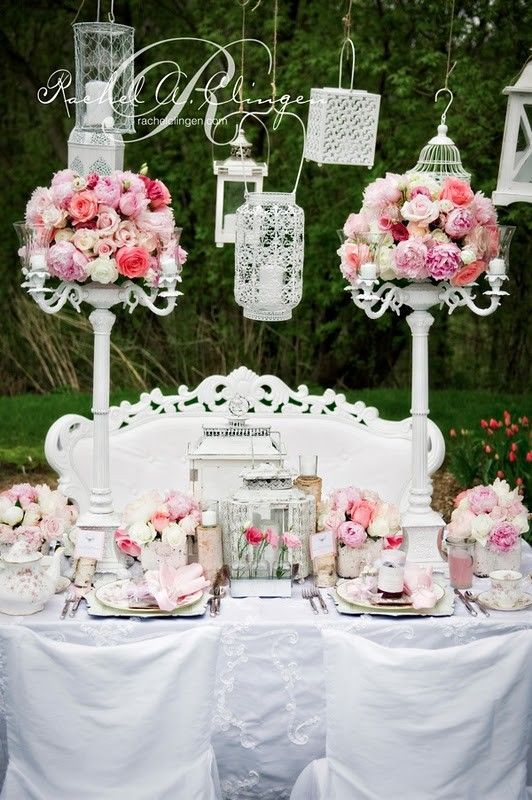 Shabby chic wedding table decorations image collections wedding pin by wedding and event planner by luz on shaby chic wedding explore shabby chic weddings junglespirit Choice Image