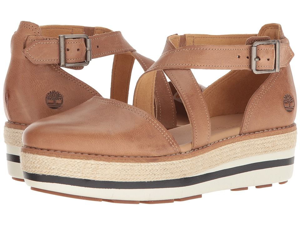 9154341a0a641 Timberland Emerson Point Closed Toe Sandal Women s Sandals Light Brown Full  Grain