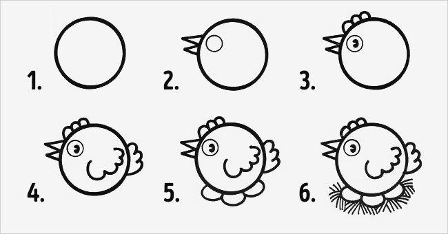 10 Dibujos de círculos fáciles de realizar con los niños ...