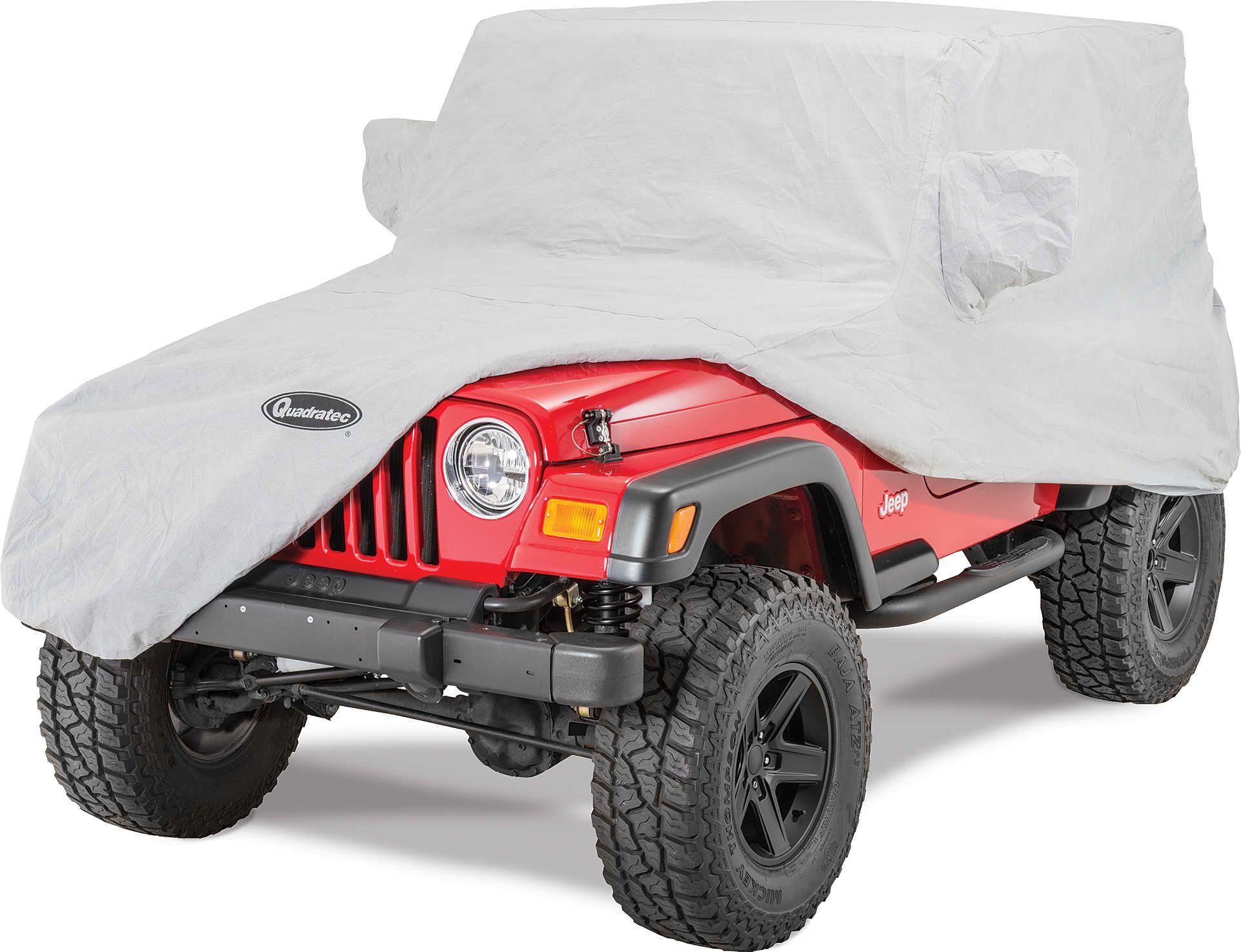 1323e6bff3 Quadratec® Softbond 5-Layer Car Cover for 76-06 Jeep® CJ-7, Wrangler YJ &  TJ | Quadratec