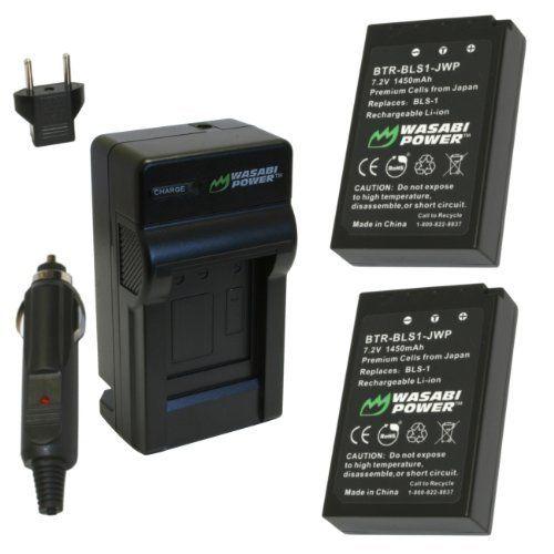 Wasabi Power Battery And Charger Kit For Olympus Bls 1 Ps Bls1 E 420 E 450 E 600 E 620 Pen E P1 E P2 Nikon Coolpix P7000 Digital Slr Camera Digital Slr
