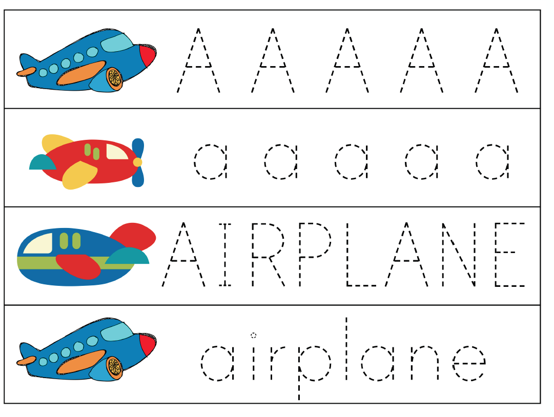 A Is For Airplane Tot Pack With Images