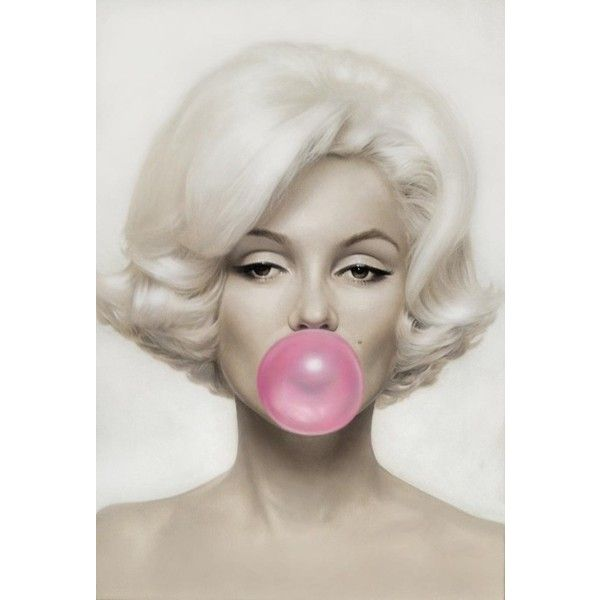 Conveyer Of Cool Cool Art Pink Bubble Gum Michael Moebius ❤ liked on Polyvore featuring pictures, backgrounds, models, photos and background pics