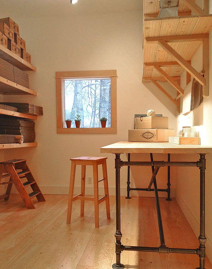 Mesa o mesada en ca os metales pinterest escritorios for Planos de escritorios