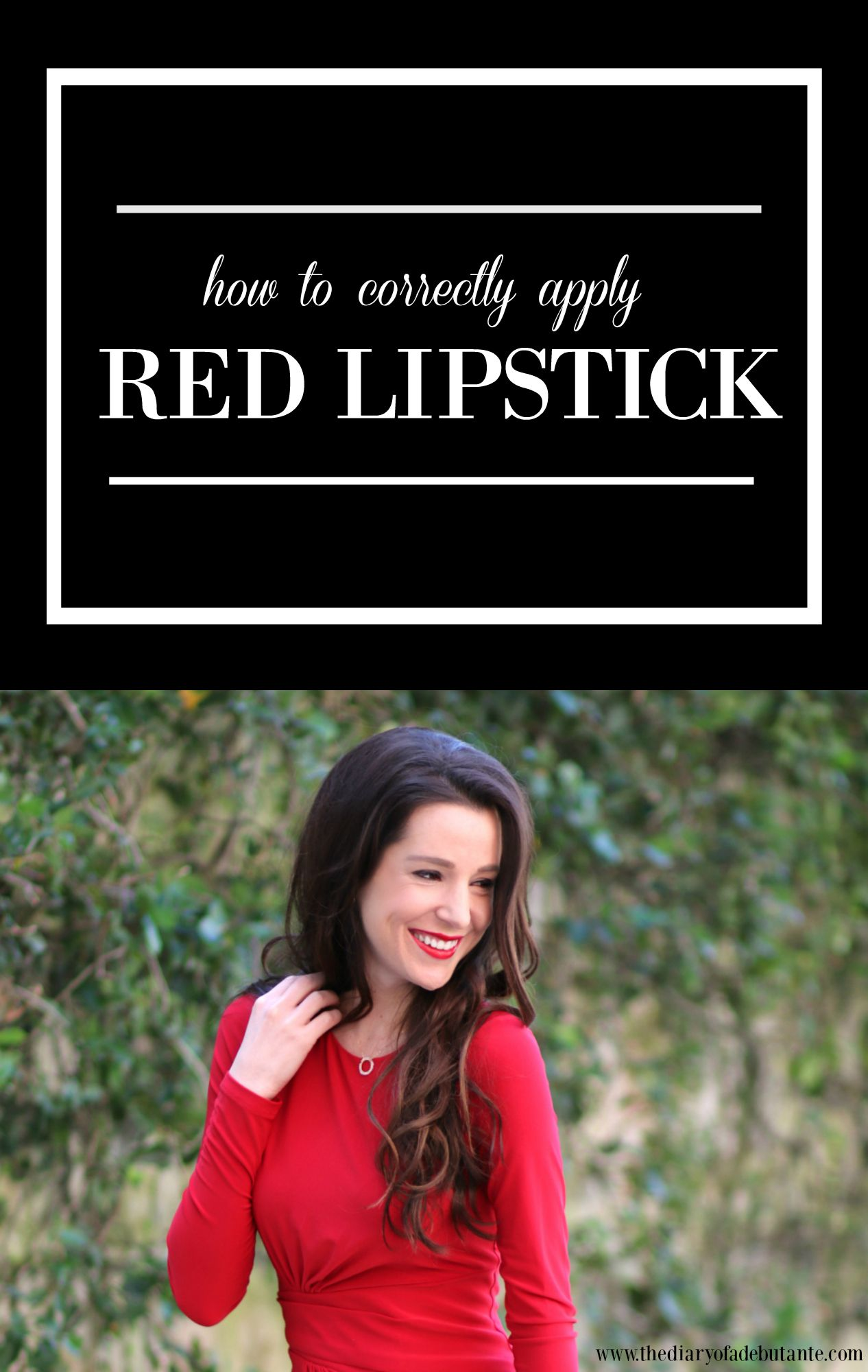 Tutorial on How to Correctly Apply Red Lipstick Beauty