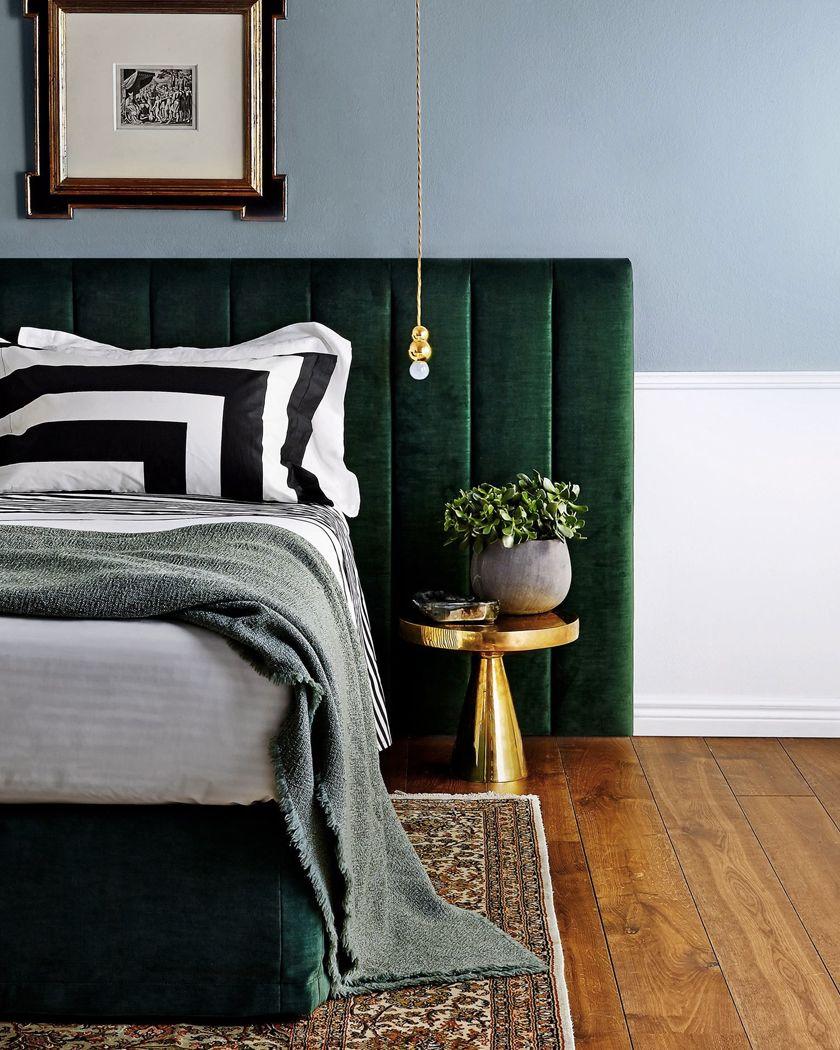 La tendance Art Deco  Chambre a coucher, Décoration intérieure