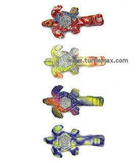 Colorful Turtle Hair Clips, Set of 4