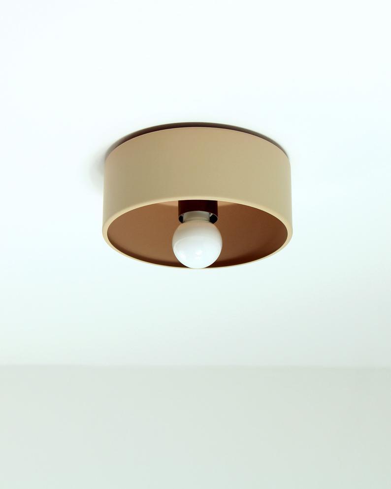 Cask Minimal Flushmount Wall Sconce Ceiling Fixture Lamp Etsy In 2020 Ceiling Fixtures Wall Sconces Ceiling Mount Fixtures