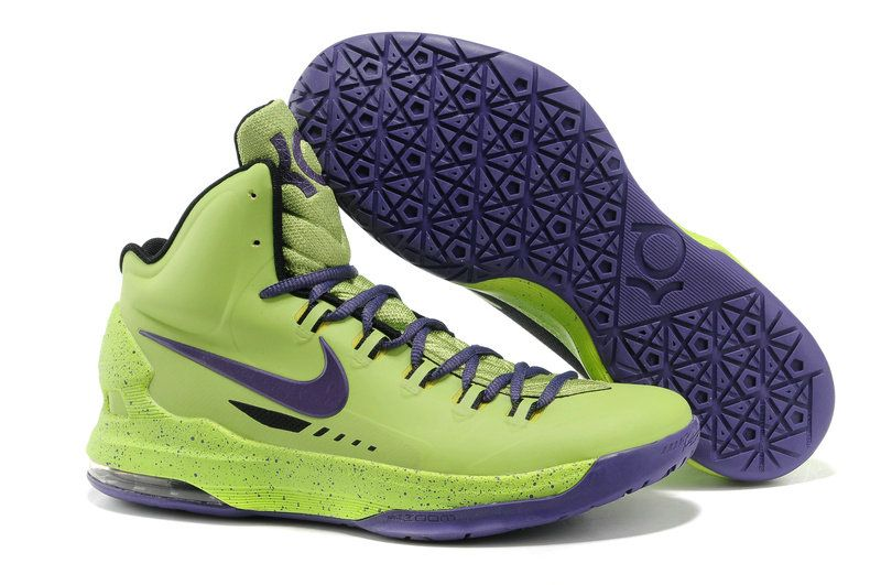 Nike KD V Volt LawnGreen Court Purple Glow in the dark  d469c5be32b9