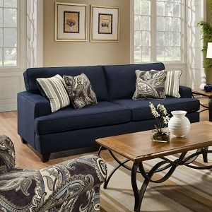 navy blue living room chair | winda 7 furniture