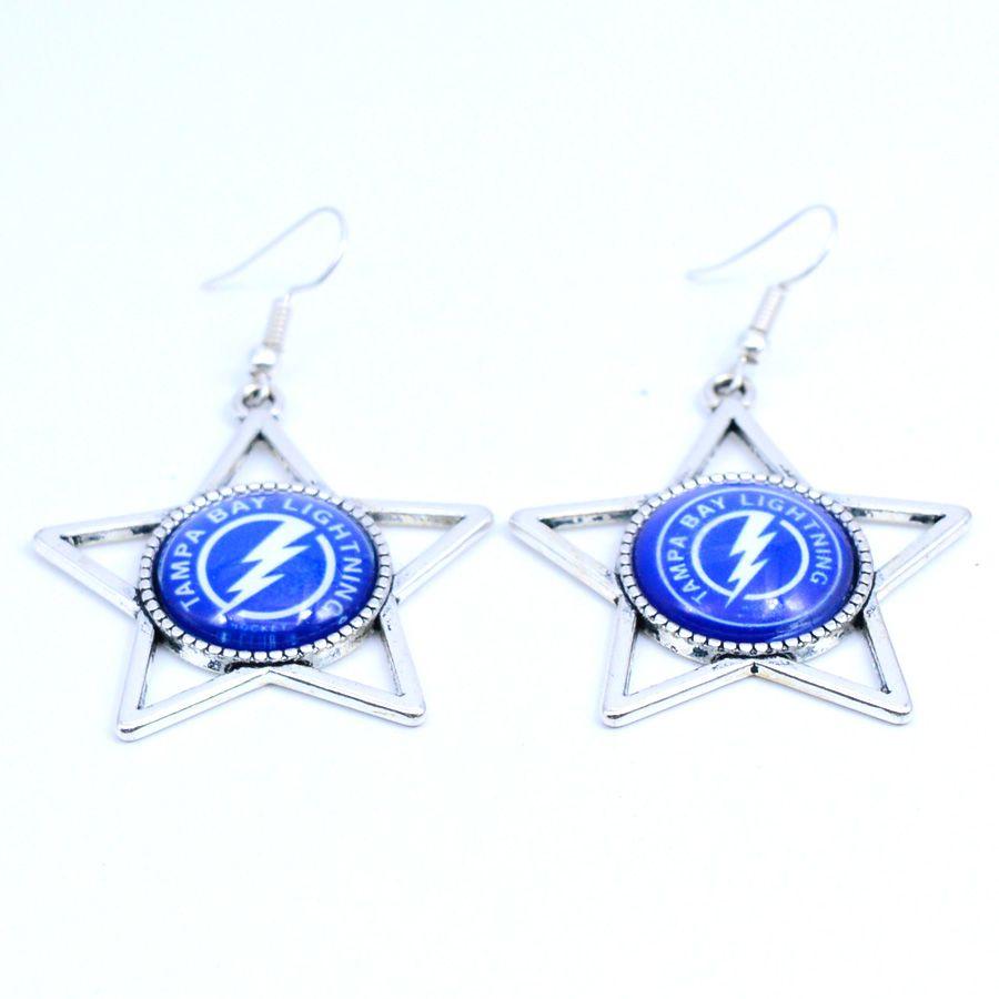 Earrings Nhl Tampa Bay Lightning Charms Dangle Earrings Sport Earrings Ice Hockey Jewelry For Women Birthday Party G Hockey Jewelry Sport Earring Women Jewelry [ 900 x 900 Pixel ]