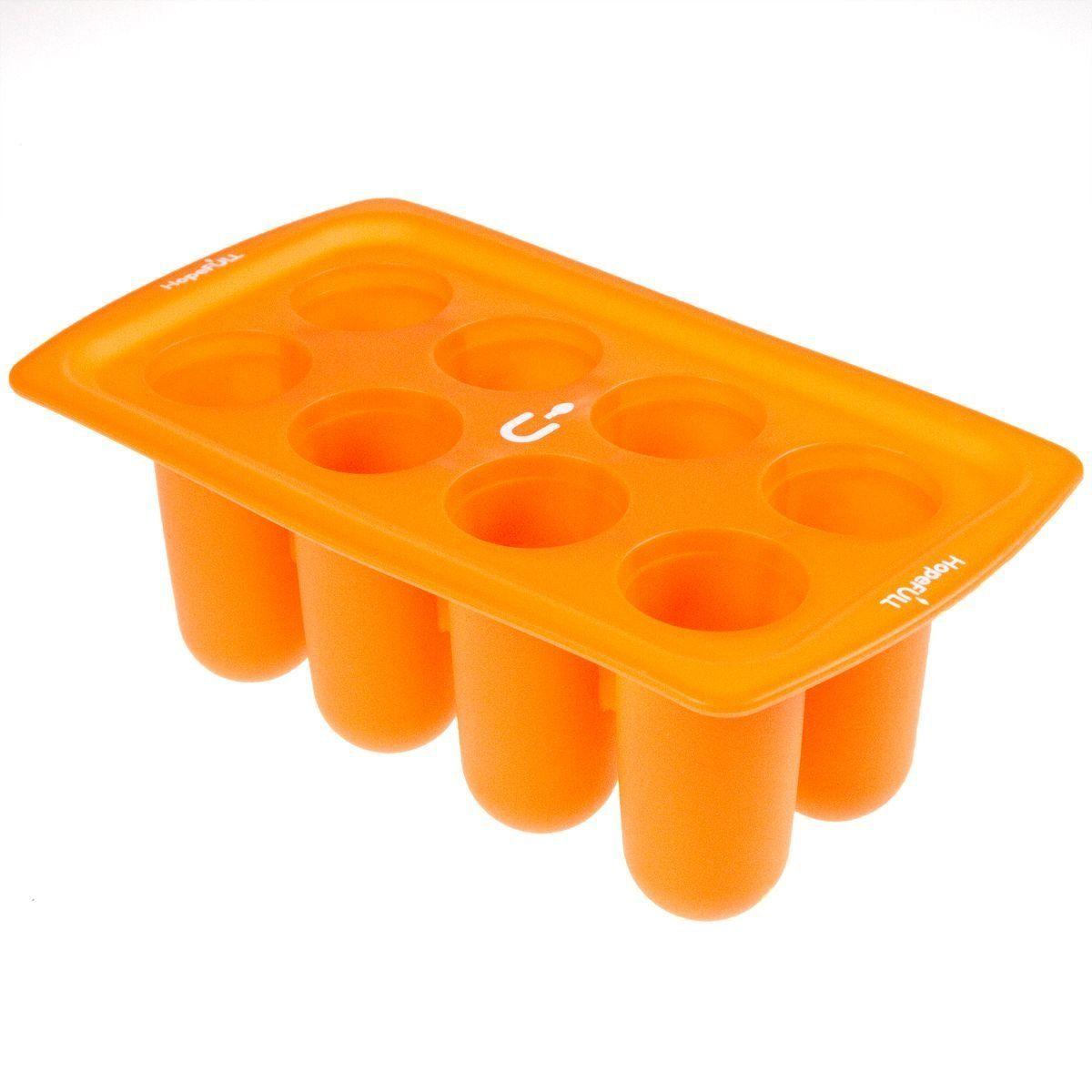 Hopefull silicone popsicle and cake pop mold freezer tray