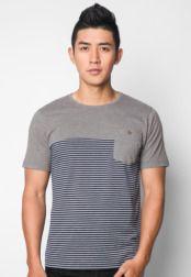 เสื้อยืด Stripe Pocket     #Pocket, #Stripe, #เสอยด