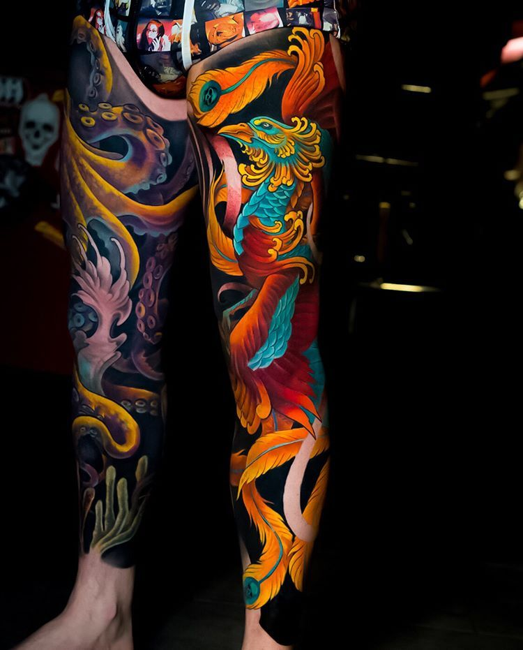 This Color In This Is Phenomenal Japanese Tattoo Irezumi Tattoos Tattoos