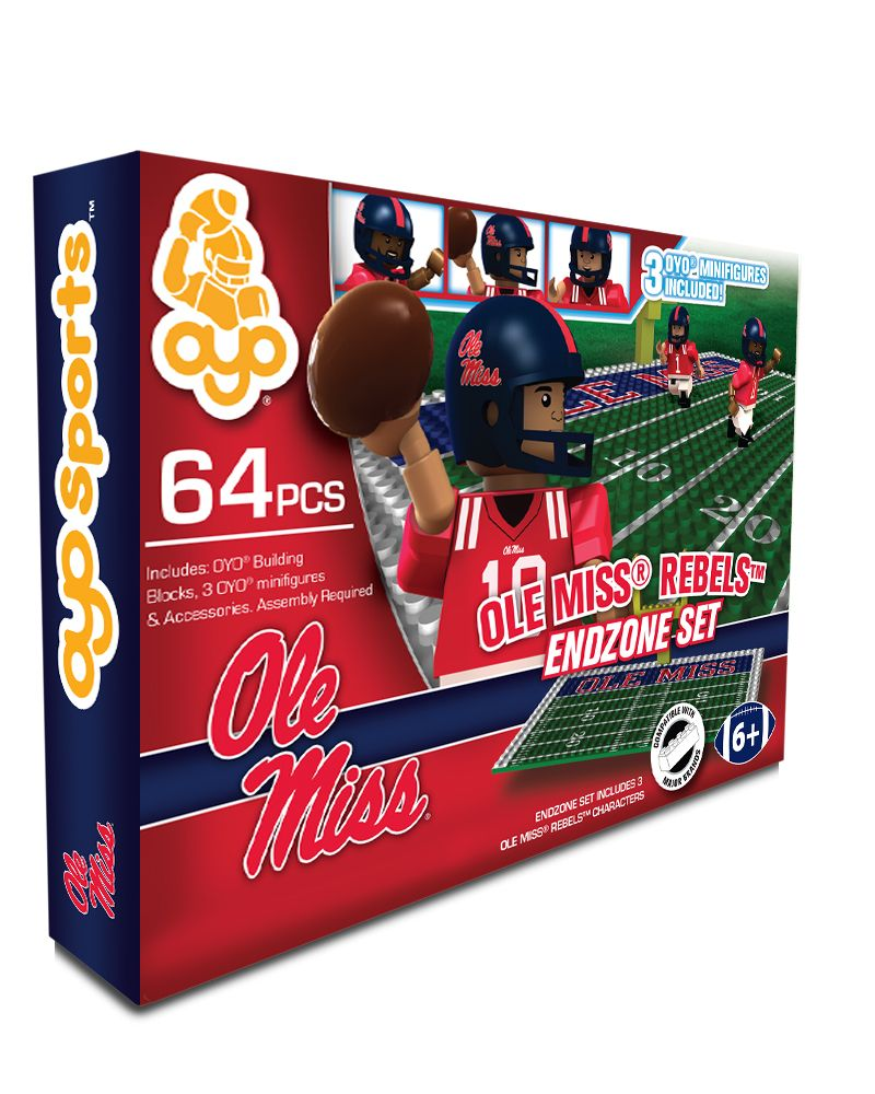 OYO Sports | Campus Series Football Game Sets | University of Mississippi®