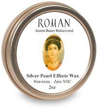 The Earth Pigments Company, LLC - Roman Silver Pearl Effects Wax, $8.95 (http://www.earthpigments.com/roman-silver-pearl-effects-wax/)