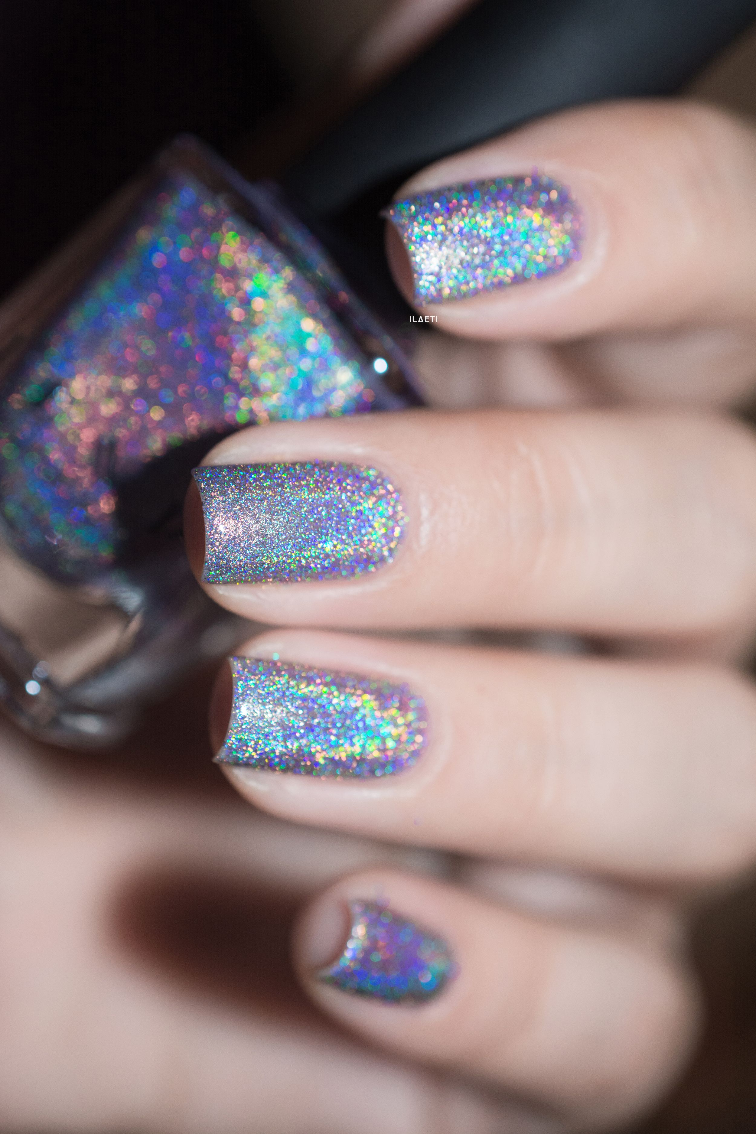 Home Sweet Home - Lavender Ultra Holographic Nail Polish by ILNP