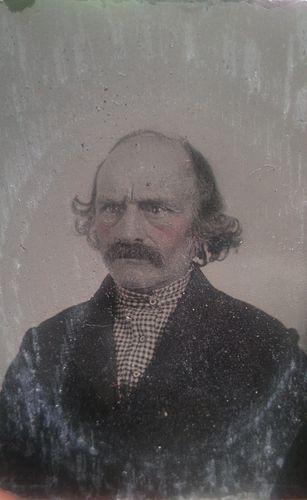 Civil War Tintype of Glaring Rebel Wearing Confederate Battlefield Shirt | eBay