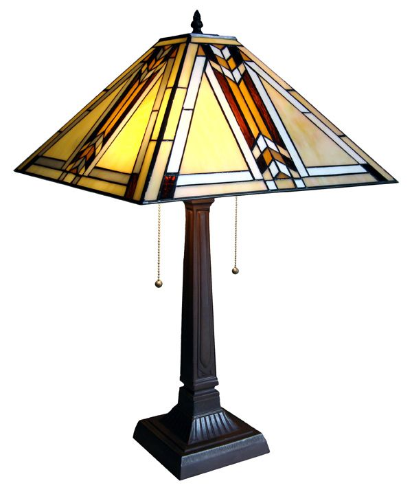 Mission Style Tiffany Lamp For My Craftsman Style Home