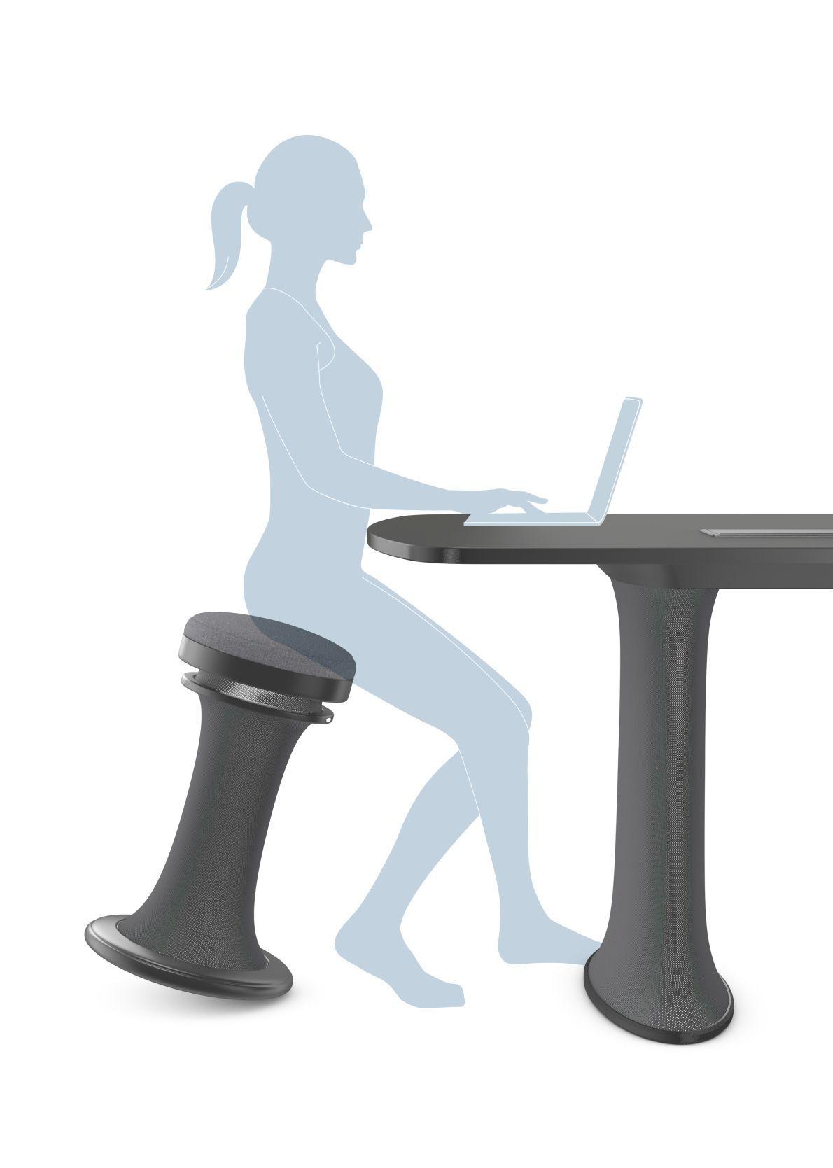 Brunner dress desk with standing aid http://www.brunner-group.com/en ...