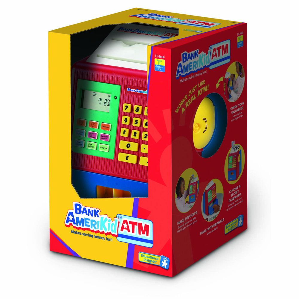 Pin on ATMs for Kids