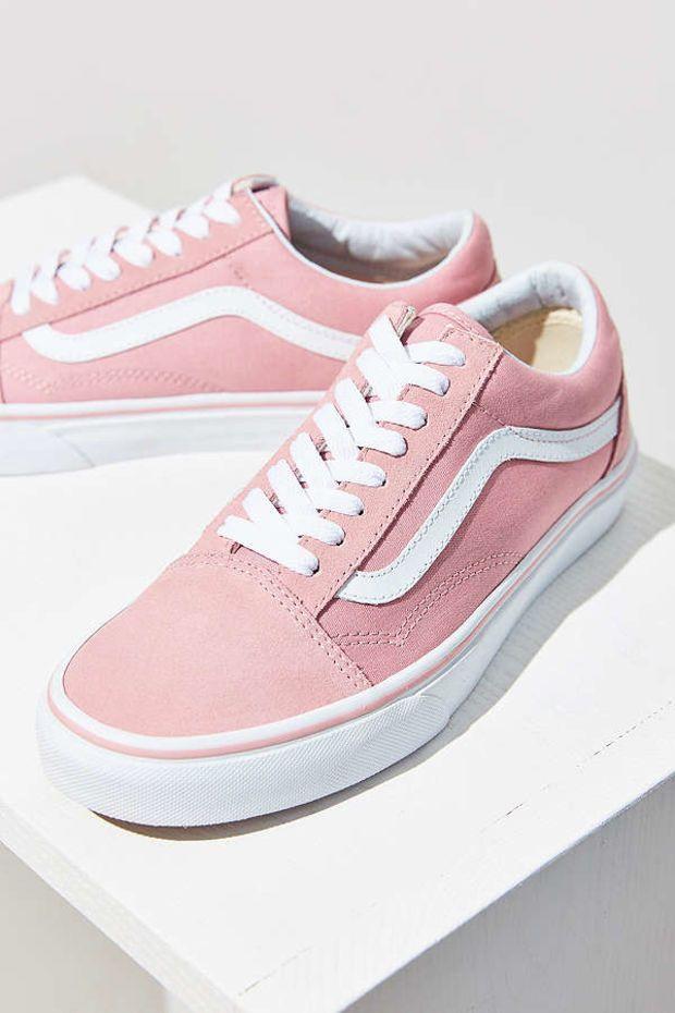 vans bota rosa