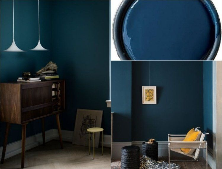 couleur de peinture 2015 le bleu p trole le vert canard. Black Bedroom Furniture Sets. Home Design Ideas
