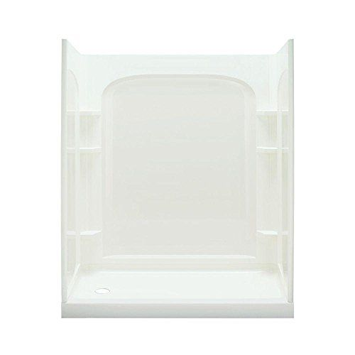 STERLING 72280100-0 Accord Seated 36-Inch x 48-Inch x 74-1//2-Inch Shower Kit White