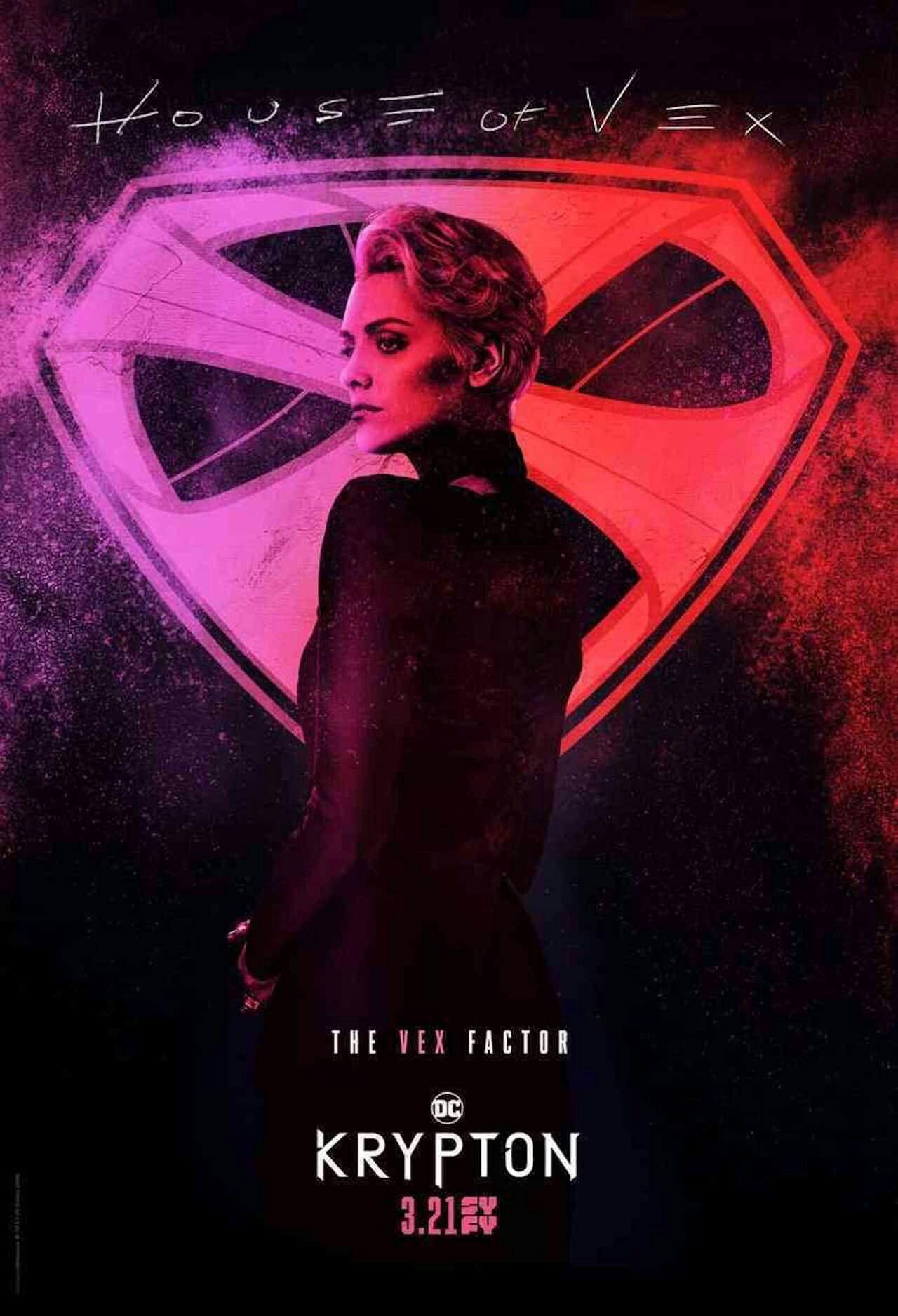 Nyssa Vex Krypton Serie Krypton Serie Poster E Marvel Comics
