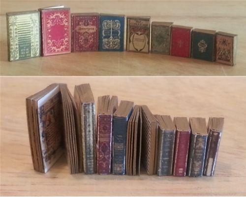 Miniature Cindi/'s Children/'s Classic Books DOLLHOUSE 1:12 4 Titles, Set #2