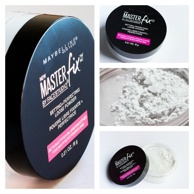 Maybelline Master Fix Setting+Perfecting Powder Review