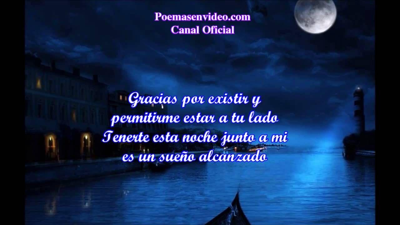 Buenas Noches Mi Amor Poema Buenas Noches Versos De Amor Cortos