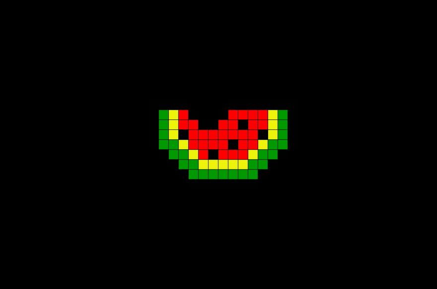 Pixel Art Melon Facile Recherche Google Coloriage Pixel