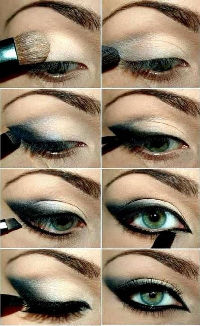 Cat Eye Makeup Step By Step