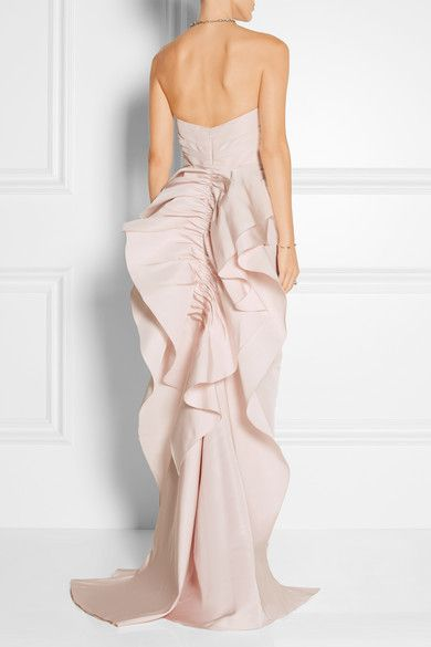 Ruffle Gown Marchesa 6JHw5KD