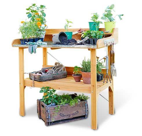 Zahradnicky Stolek Gartenmobel Pflanztisch Gartengestaltung