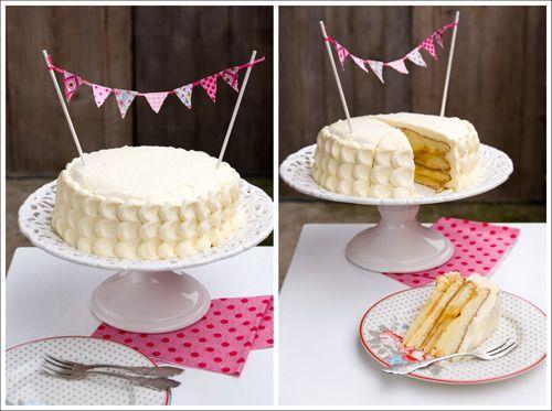 Berry Lovely: Lemon Celebration Cake for my 100th post!